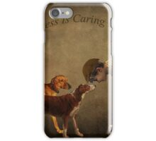 Happiness Is Caring Friends iPhone Case/Skin