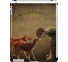 Happiness Is Caring Friends iPad Case/Skin