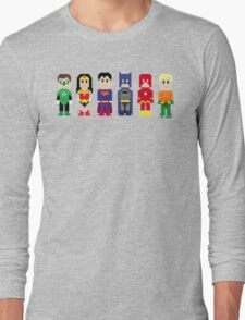 8-Bit Super Heroes 3: The Other Guys Long Sleeve T-Shirt