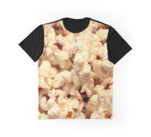 Popcorn Close-Up Photo Graphic T-Shirt