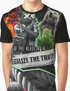 Green Day: Legalize Truth (Revolution Radio) Graphic T-Shirt