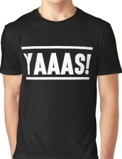 jaaas! black background Graphic T-Shirt