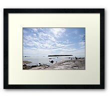 A Lake In Finland Framed Print