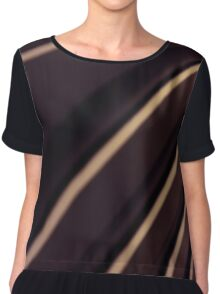 Spiral Lines : abstract Chiffon Top