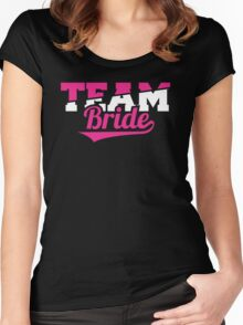 Team Bride Women's Fitted Scoop T-Shirt