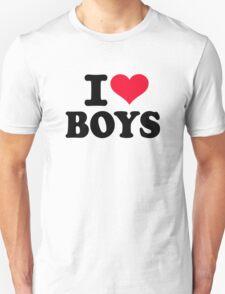 I love boys Unisex T-Shirt