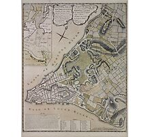 442 Plan of New York City of New York and its environs to Greenwich Town Survey'd in the winter 1775 Photographic Print