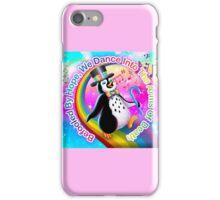 Nihilist LisaFrank -- Penguin iPhone Case/Skin