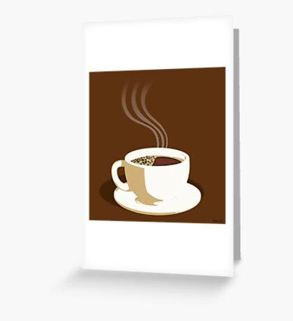 The Perfect Cup Of Coffee Greeting Card