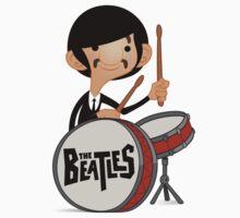 The Beatles Ringo Starr  Kids Tee