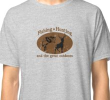 Fishing and Hunting Classic T-Shirt