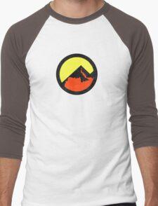Maryland Tilted State  Men's Baseball ¾ T-Shirt