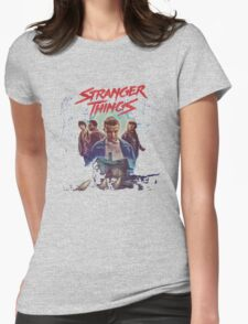 Stranger Things Home Womens Fitted T-Shirt