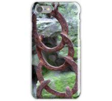 Horse shoe gong at Beaumaris Castle. iPhone Case/Skin