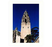 Minaret, Balboa Park, San Diego Art Print