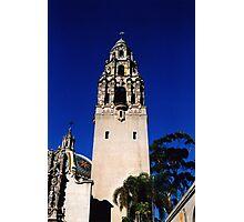 Minaret, Balboa Park, San Diego Photographic Print