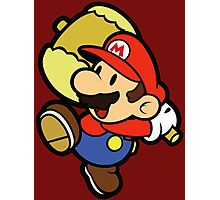 Paper Mario Hammer Time Photographic Print