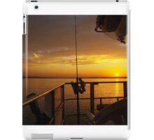 Golden Cruising Sunset. Photo Art, Print, Gift, iPad Case/Skin
