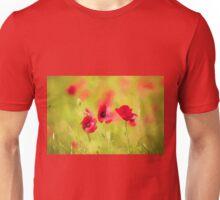Poppy art by David Tovey Unisex T-Shirt