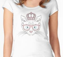 Her Feline Highness Women's Fitted Scoop T-Shirt