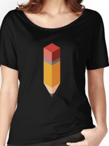 Isometric pencil Women's Relaxed Fit T-Shirt