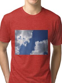 Clouds in the Blue Sky Tri-blend T-Shirt