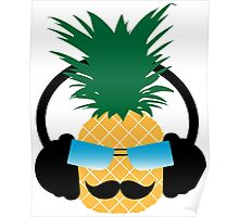 Funny pineapple lover music Poster
