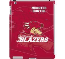 Monster Hunter All Stars - The Minegarde Blazers iPad Case/Skin