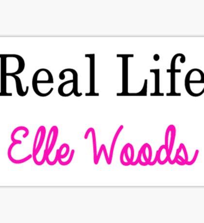 Real Life Elle Woods Sticker