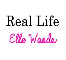 Real Life Elle Woods Photographic Print