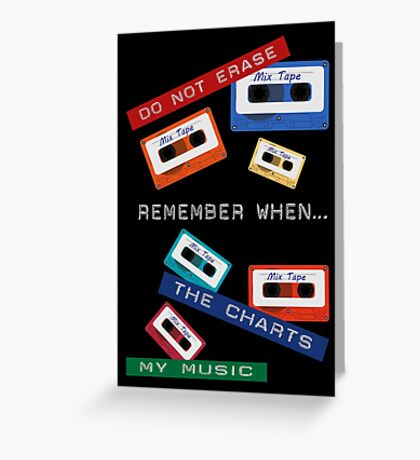 Remember When ... Retro Dymo Label Greeting Card