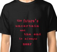 The Doors Roadhouse Blues Lyrics Classic T-Shirt