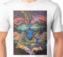 Totem Pole Face Unisex T-Shirt