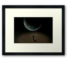 Without A Word Framed Print