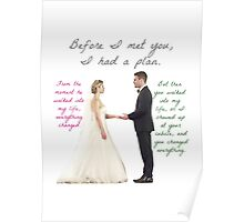 Olicity Wedding - Everything Changed Poster
