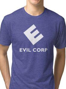 Mr. Robot Evil Corp Tri-blend T-Shirt