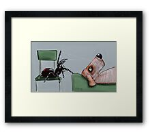 Psychoanalysis Framed Print