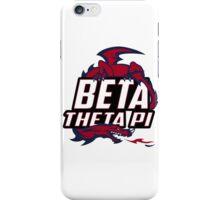 Beta Theta Pi Baseball shirt iPhone Case/Skin
