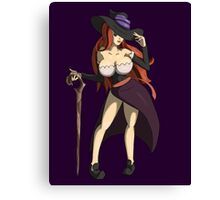 Sexy Sorceress Dragon's Crown Canvas Print