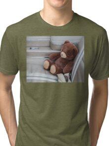 Teddy Takes A Ride Tri-blend T-Shirt