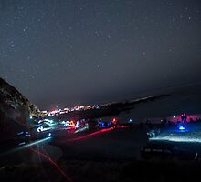 Astro Photographers Evening at Red Rocks by Mark Hill