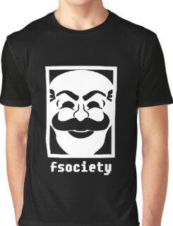Mr. Robot Fsociety Graphic T-Shirt