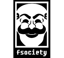 Mr. Robot Fsociety Photographic Print