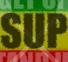 Get Up Stand Up Sticker