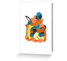 Guerreiros de Dende Greeting Card