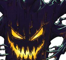 Scary Halloween Tree Sticker
