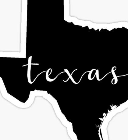 TX Sticker