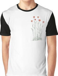 Flores naranja Graphic T-Shirt