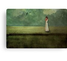 Inward Conversation Canvas Print