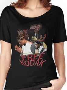 FREE KODAK BLACK VINTAGE RAP TOUR SHIRT Women's Relaxed Fit T-Shirt